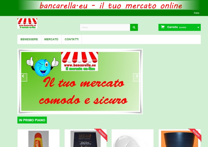 bancarella.eu Shop On Line